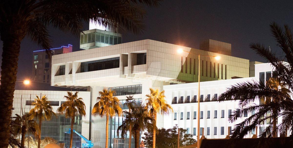 Здание министерства финансов - (DOHA, QATAR)