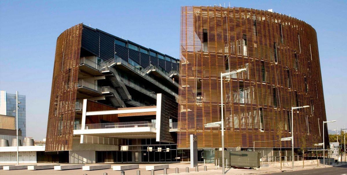 Здание Prbb - (Барселона, Испания)