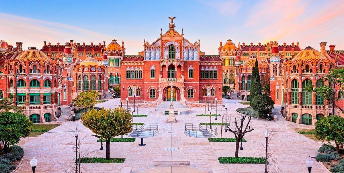 Sant Pau госпиталь - (Барселона, Испания)