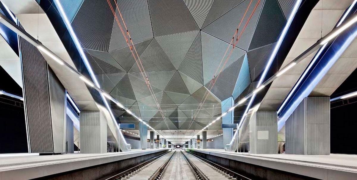 Высокоскоростной железнодорожный вокзал - (Logroño, Испания)